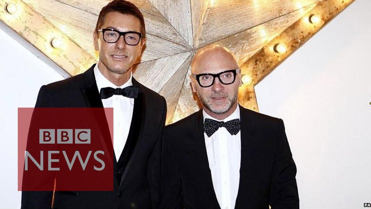f08449a6d396 Elton John calls for Dolce & Gabbana boycott - BBC News - YouTube