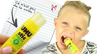 ♡• UN TUBE DE COLLE COMESTIBLE !! | DIY BACK TO SCHOOL •♡
