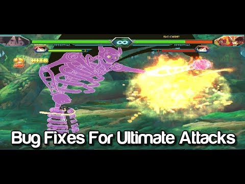 Bug Fixes for Ultimate Attacks - Bleach VS Naruto MUGEN