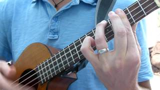 �������� ���� Toxicity - System of a Down ukulele tutorial ������
