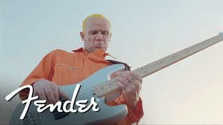 "Flea Performs ""Maggot Brain"" on his Signature Active Jazz Bass 