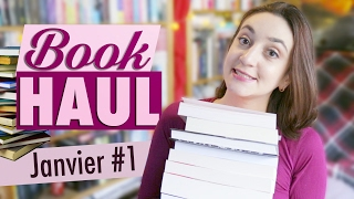 Book Haul : Janvier 2017 (Part. 1) | Myriam