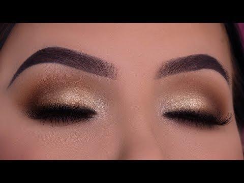 Easy Soft Bridal Eye Makeup Tutorial | Using $15 palette thumbnail