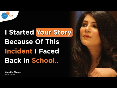 The Story Behind YourStory | Shradha Sharma (Founder & CEO)