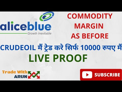 Crude Oil Trading in Just 10000 with Proof |  Commodity ( Crude Oil) Trading Margin Requirement