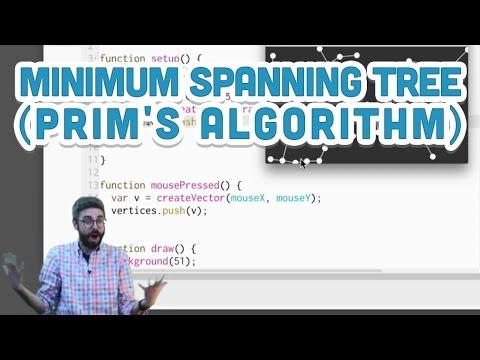 9.6: Minimum Spanning Tree (Prim