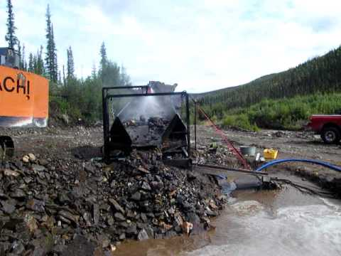 oscillating deck for placer gold mining #4