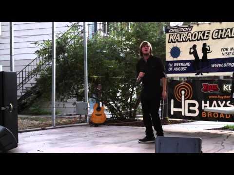Dakota Oregon Karaoke Challenge 2013 The Dalles OR.