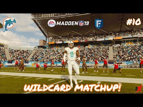 Playoff Time! Madden 19 Miami Dolphins Franchise Ep10!
