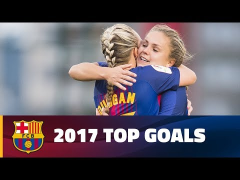 Top 10 goals in 2017 from Barça Women, Barça B and the Academy