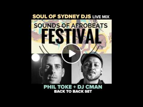 Soul of Sydney DJs (DJ CMAN & Phil Toke) @ Sounds of Afrobeat Fest.