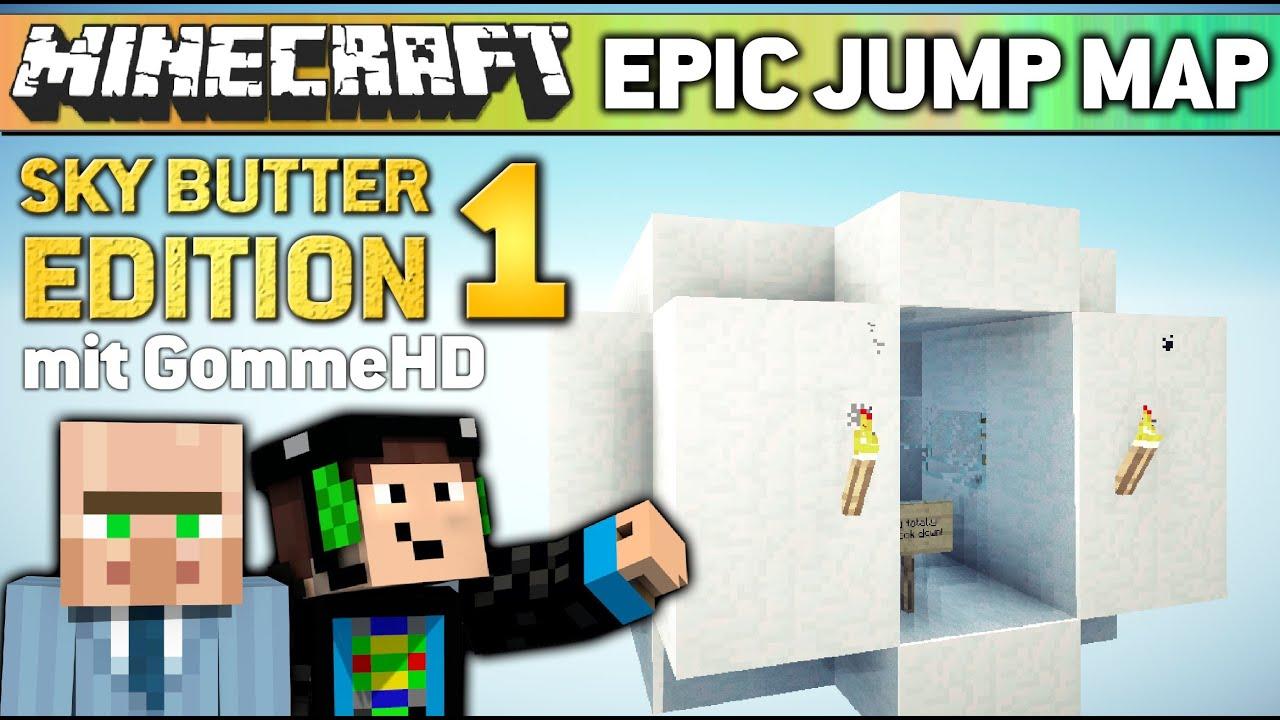 Minecraft Epic Jump Map 1 Gommehd Der Failer Skydoesminecraft
