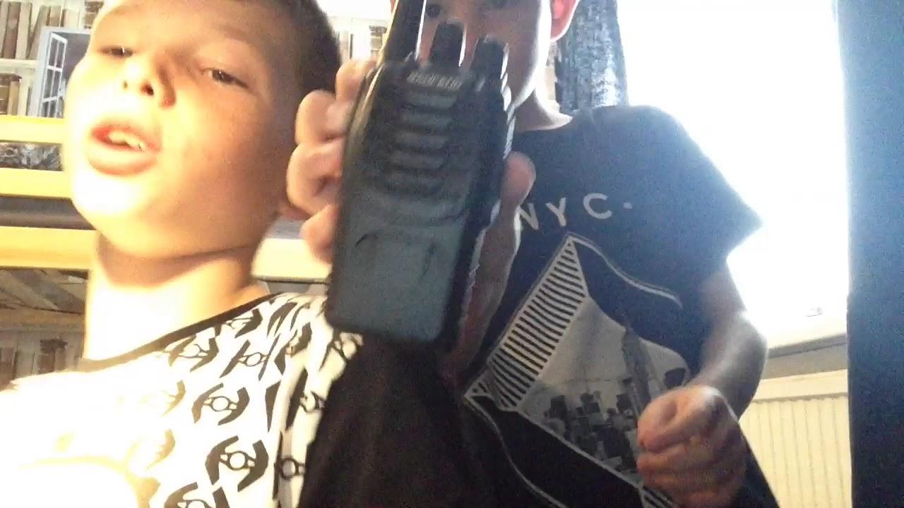 police walkie talkies youtube