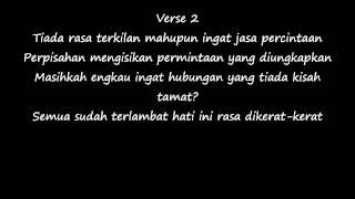 Air Mata Ku Berlagu   BHeart (cover) lirik video