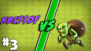 Kristof VS Goblini #3 |Clash Of Clans Romania
