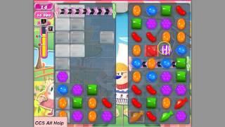 Candy Crush Saga level 597 basic strategy