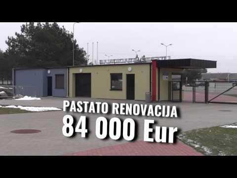 Utenos futbolo stadione – šiukšliadėžės po 602 eurus