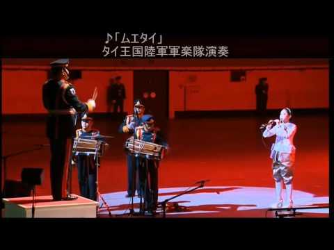 การแสดงวงโยธวาทิต กองดุริยางค์ทหารบก ในงาน Japan Self Defense Forces Marching Festival 2013
