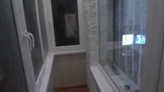 видео Отделка балконов и лоджий искусственным и декоративным камнем: фото идеи