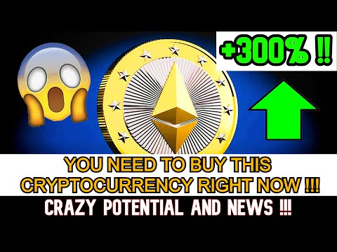BEST Cryptocurrency to BUY NOW – it WILL EXPLODE 2021 – WATCH ASAP Before It's TOO LATE – +500% PLUS
