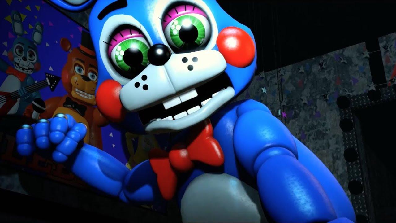 Five Nights At Freddy's Bonnie Animated sfm fnaf toy bonnie's death scene (five night's at freddy's)