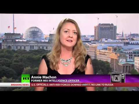 British Spies Controlling the Past, Present and Future  Interview with Annie Machon