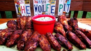 How To Make Grilled Cajun Chicken Wings - Grilled Chicken Wing Recipe