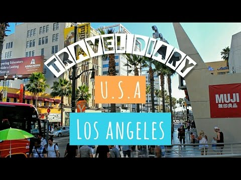Travel Diary | Los Angeles | Airports Highlight + Beverly Hills + Hollywood Boulevard