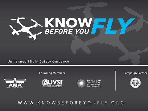 AMA EXPO 2015 Know Before You Fly Press Conference