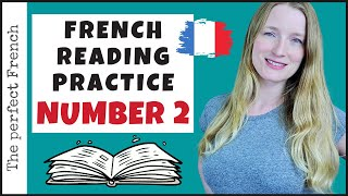 French reading practice | How to read in French | Reading Practice number 2