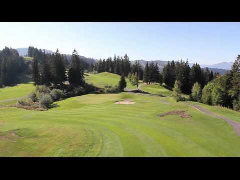 Trou n°16 - Golf Les Gets