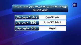 %18 نسبة التزام الجهات المانحة باحتياجات الأردن للأزمة السورية - (19-9-2017)