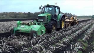 field storing potatoes in lancashire
