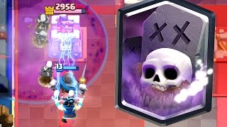 Clash Royale - TOP 50 GLOBAL! Graveyard = OP