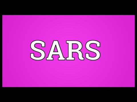 SARS Meaning