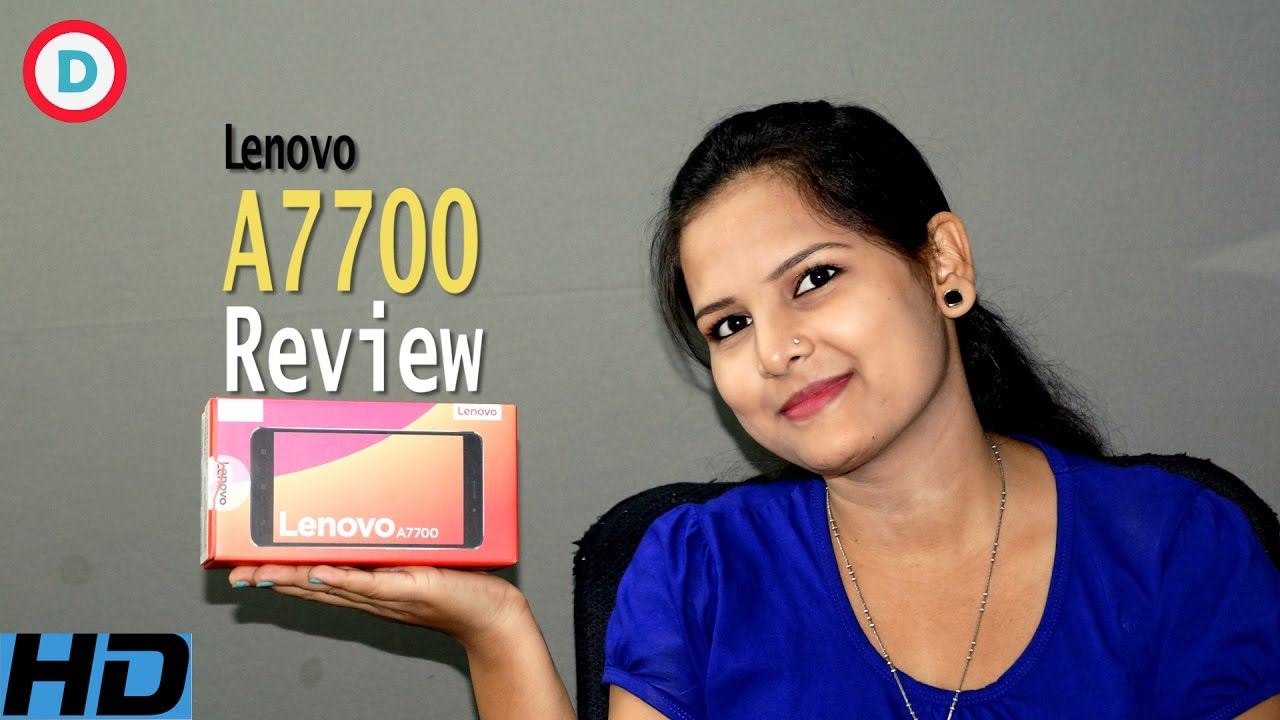 Lenovo A7700 Unboxing Review Hindi