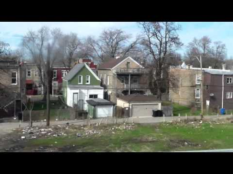 Riding CTA Green Line from Oak Park to downtown Chicago on April 13, 2015-part 2