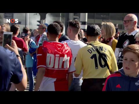 Zo viert Rotterdam het kampioenschap van Feyenoord: 'Ik ben zo gelukkig'