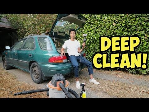 How to Clean a REALLY DIRTY Car Interior!