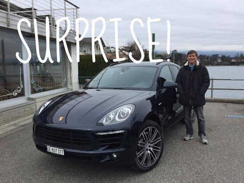 SURPRISING MY DAD WITH A BRAND NEW PORSCHE MACAN!