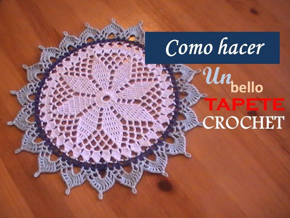 Dorable Patrones De Crochet Tapete Rápidas Y Fáciles Ideas - Manta ...