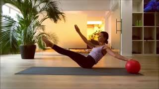 4 exercicios de Pilates no solo
