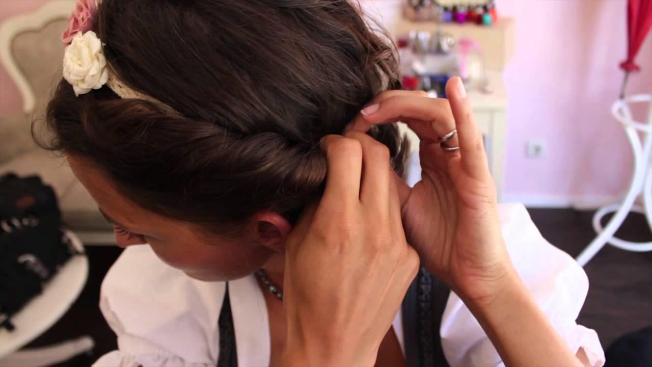 Die Wiesn Trends Von Angermaier Und Flecht Frisuren Der Makeupbox 3