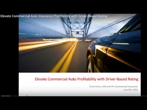 Elevate Commercial Auto Insurance Profitability