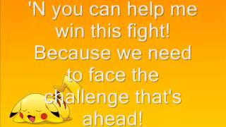 Pokemon - Pikachu (I Choose You) Lyrics