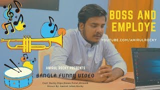 Types of people in an OFFICE | BOSS AND EMPLOYE | Funny video | Amirul Rocky