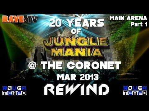 20 YEARS OF JUNGLE MANIA (Part1) - RAVE:TV @Coronet - London - April 2013