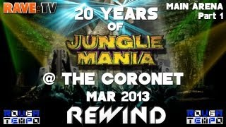 Baixar 20 YEARS OF JUNGLE MANIA (Part1) - RAVE:TV @Coronet - London - April 2013