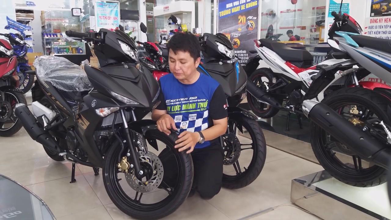 Exciter 150 2020 đen nhám – Soi cận cảnh giá bán và thủ tục trả góp Yamaha Exciter màu đen nhám