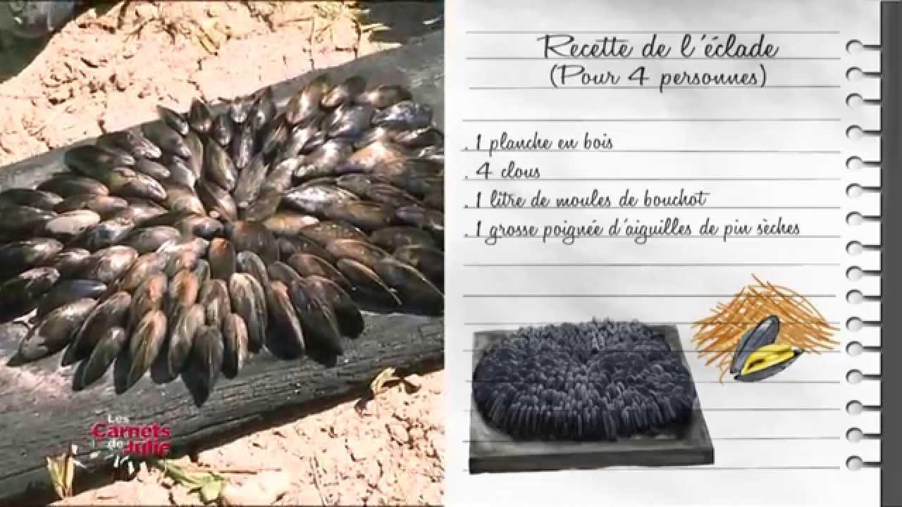 recette l 39 clade de moules les carnets de julie youtube. Black Bedroom Furniture Sets. Home Design Ideas